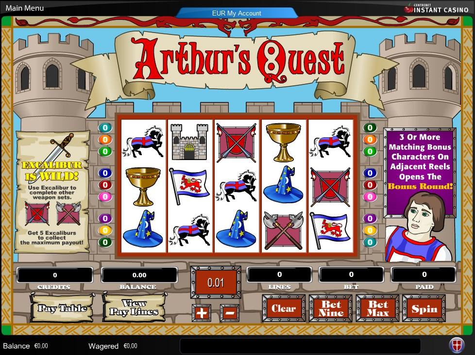 Spiele ArthurS Quest II - Video Slots Online
