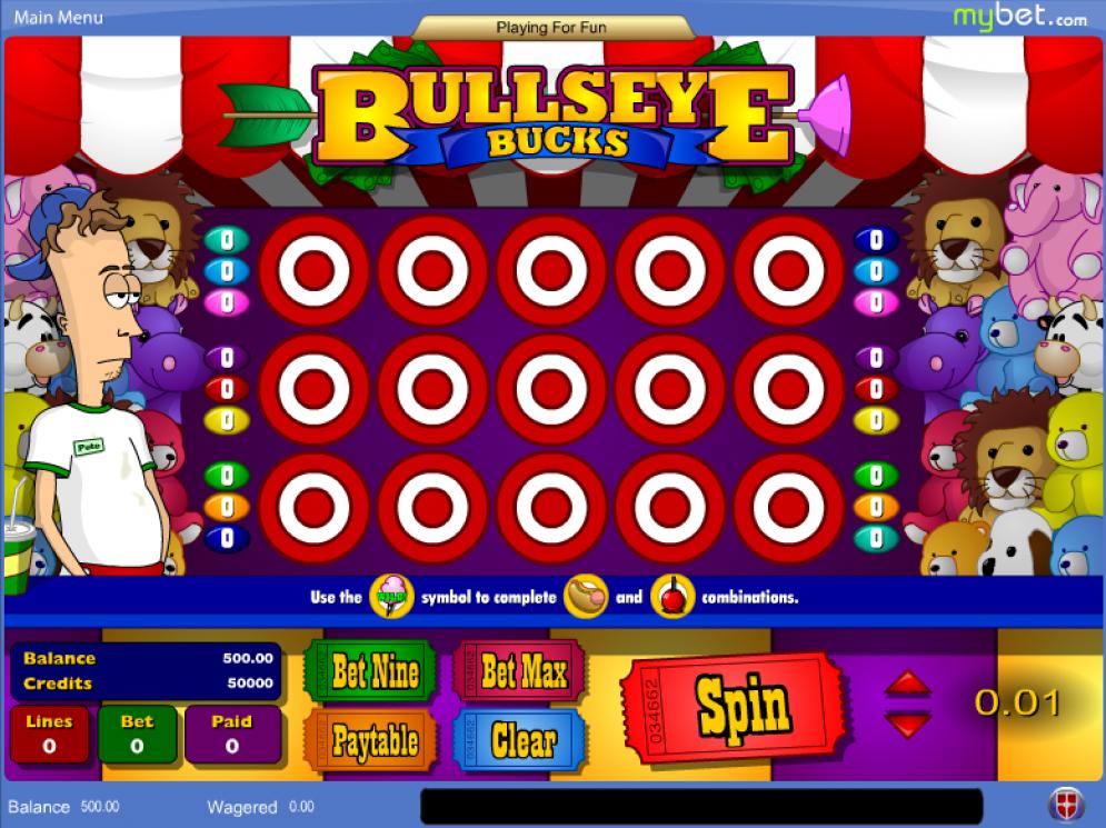 Deadwood bullseye bucks amaya casino slots lar?