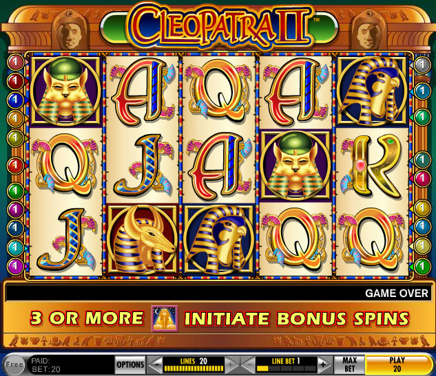 Play Slots For Free Cleopatra
