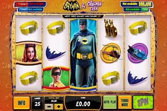 Batman and catwoman cash slots offer progressive wins Ayancık
