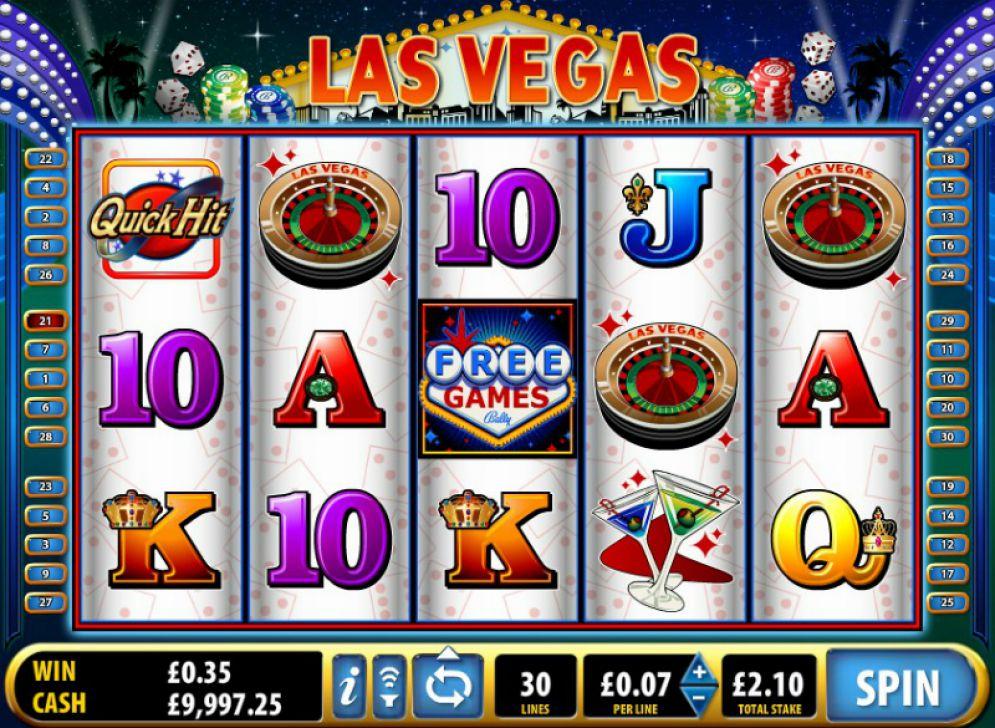 Quick Hit Slots Las Vegas