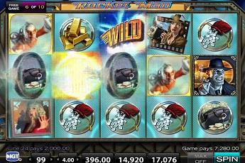 Rocket Man Slot - Tumbling Reels In This Free Demo Game