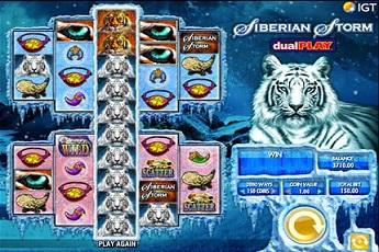 Spiele Siberian Storm Dual Play - Video Slots Online
