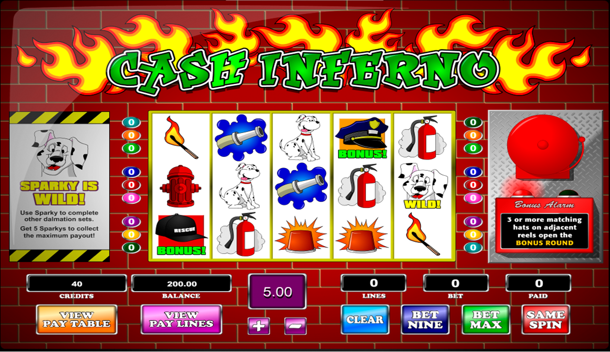 Kanes Inferno Slot Machine - Play Online for Free Instantly