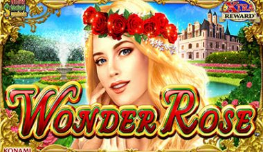 Konami Wonder Rose Slot Machine